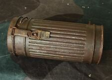Original WW2 Relic German army Gas Mask Canister ( Wehrmacht / Luftwaffe )