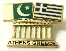 Pin Spilla Olimpiadi Athens 2004 Greece/Pakistan Flags