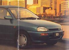 1994 MAZDA DB 121 Australian 12p Sales Brochure & Spec Sheet BUBBLE