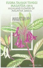 Highland Flowers Malaysia 2000 Flora Plant Leaf Tree (miniature sheet) MNH