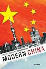 The ALA Guide to Researching Modern China, , Yunshan Ye, Excellent, 2014-03-31,
