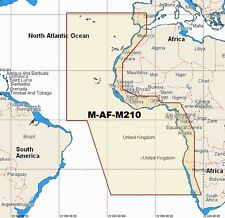 C-Map W99  NT MAX  M-AF-M210  WIDE AREA CHART C-CARD