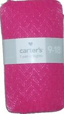 CARTERS TIGHTS KNIT WARM STOCKING LEOTARD CHILDRENS FALL CLOTHES LITTLE GIRLS