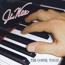 FREE US SH (int'l sh=$0-$3) NEW CD White, John: Gospel Touch