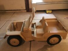 GI Joe Desert Patrol Tan Jeep