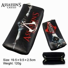 USA Seller - NEW - Movie Video Game Assasin's Creed Large Enclosed Wallet Purse