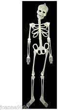"Grand Halloween 36 ""Glow dans Dark GID pendaison décoration squelette articulé prop BN"