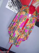 VINTAGE OSCAR DE LA RENTA Women's Dolman Sleeve Open jacket