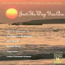 JUST THE WAY YOU ARE - HENRY MANCINI; ROGER WILLIAMS; KEN THORNE, ROMANTIC STRIN