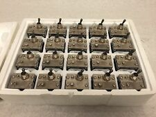 Lot of 20 AIRPAX CIRCUIT BREAKER SWITCH TOGGLE ON-OFF IUGN11-0 30A 240VAC 80VDC