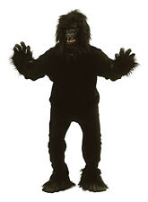 Adult King Kong Gorilla Fancy Dress Costume Monkey Apre Outfit Halloween