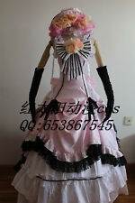 Anime Black Butler Ciel Phantomhive Lolita Punk Party Dress Cosplay Costume