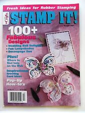 Stamp It! Magazine Summer 2001 Fresh Ideas for Rubber Stamping
