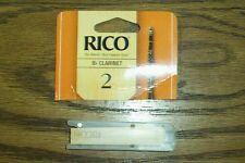 RICO BRAND CLARINET REED #2 NEW OUT OF ORIGINAL PKG