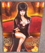 Elvira Glossy Art Print 11 x 17 In Hard Plastic Sleeve