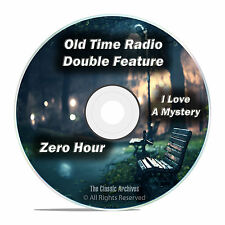 Zero Hour, I Love a Mystery, All Known 701 Old Time Radio Shows MP3 DVD F83
