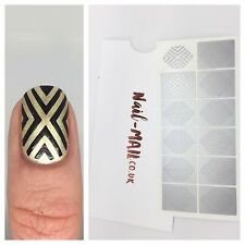 Nail Mail - Art Deco Nail Vinyls - Nail Art Stencils & Stickers