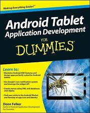 Android Tablet Application Development For Dummies (For Dummies (Compu-ExLibrary
