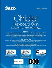Saco Silicon Keyboard Cover for Lenovo YOGA 300 (11) (80M0007KIN) 11.6-inch