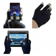 Unisex Black Conductive Hand Warmer Gloves magic use on Touch Screen phone pad