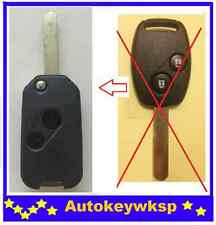 REMOTE 2 BUTTONS FLIP KEY SHELL CASE suit HONDA JAZZ CRV Odyssey CIVIC ACCORD