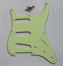 Mint Green 8 Hole Vintage ST Strat Pickguard Scratch Plate fits USA Fender