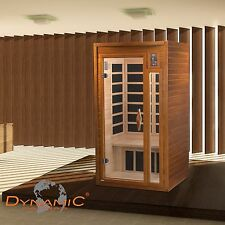 Dynamic 1-2 Person Far Infrared Sauna Barcelona 6 Carbon Heating Panels New