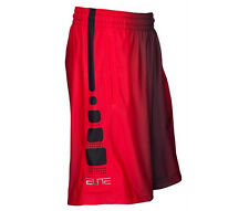 NIKE ELITE STRIPE + BASKETBALL SHORTS MENS SIZE XXXL NWT RED BLACK 718375 NEW