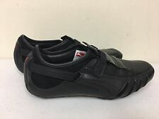 PUMA VEDANO V LEATHER MEN'S SHOES BLACK 8.5 SNEAKERS