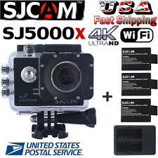 SJCAM SJ5000X Elite WiFi 4K 24 fps Action Helmet Camera+Original Charger/Battery