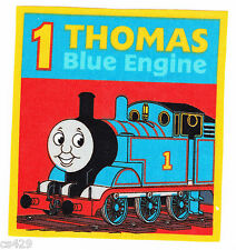 """5.5"""" THOMAS THE TRAIN TANK  CHARACTER  FABRIC APPLIQUE IRON ON"""