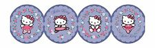 Hello Kitty Ballet on Purple Sure Strip Laser Cut Wallpaper Border BT2788BD