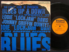 JOHNNY GRIFFIN EDDIE LOCKJAW DAVIS Blues Up And Down LP JAZZLAND JLP 60 DG MONO