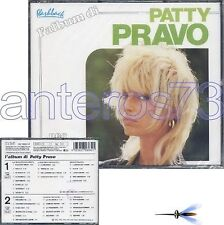 "PATTY PRAVO ""L'ALBUM DI"" RARO BOX 2 CD RCA - FUORI CAT"