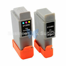 2 PACK BCI-24 NEW Ink for Canon Printer S200 S300 S330 i250 i320 i350 / BCI-24