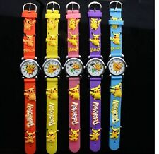10pcs Pikachu Pokemon Children's Cartoon Clap watch Digital watches Party Gifts