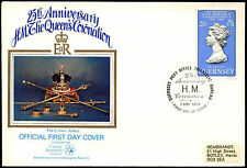 Guernsey 1978 Coronation 25th Anniv FDC First Day Cover #C38702