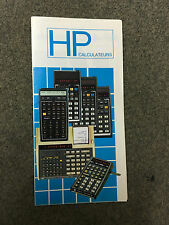 rare catalogue Calculatrice vintage Hewlett Packard HP-31E à 38C 97 calculator