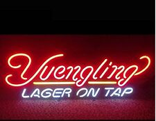"""Yuengling Lager On Tap Beer Wall Decor Neon Light Sign 17""""x14"""""""