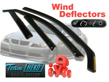 BMW 3 E90 2005- Saloon 4 Door Wind Deflectors 4 pcs HEKO (11127)