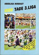 Oberliga North-east 1000 Day 3. League - Statistics of all 69 Clubs 1991 - 1994