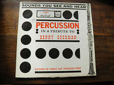 sounds you see and hear - percussion - benny goodman - Kimberly 11004