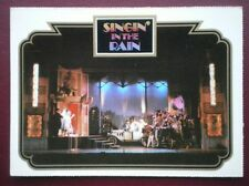POSTCARD ADVERT SINGIN' IN THE RAIN - PHOTO FROM SHOW (2)