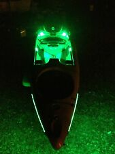 Kayak Paddle or CANOE - Green Fishing LED Light Kit --- Lifetime Warranty 9-12v