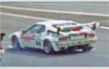 #44 Jim Beam BMW M1 1979 1/24th - 1/25th Scale Decals