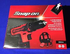 Snap On 14.4 v 1cm Cordless LITIO Set Di Punte con 2 x Batterie CDREU761A NEW