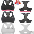 LONSDALE LADIES WOMEN CROP TOP SPORTS BRA RUNNING GYM TRAINING EXERCISE FITNESS
