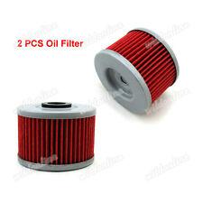 2x Oil Filter Fit Honda CRF250L CB300F CBR300R Kawasaki KLX110 KLX450R KFX450R