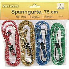 Set Of 4 Tension strap je 75cm Luggage rubber belt Span stretchy