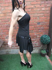 LADIES ~ MORGAN DE TOI ~ BLACK STRETCHY PARTY FORMAL COCKTAIL DRESS ~ UK 8~10